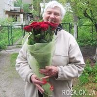 11 роз в сетке - Фото 4