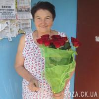 11 роз в сетке - Фото 5