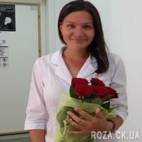 5 красных роз - Фото 3