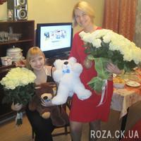 51 white rose - Photo 1
