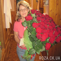 Large bouquet of roses in Cherkassy - Photo 1