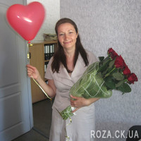 Bouquet of 31 red roses - Photo 1