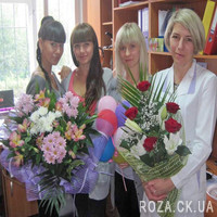 Bouquet of roses and lilies - Photo 1