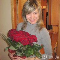 Bouquet of red roses in Cherkasy - Photo 2