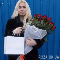 Bouquet of roses in original design - Photo 1