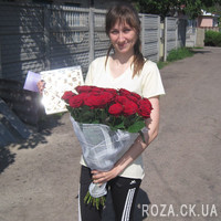 Bouquet of roses in original design - Photo 3