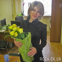 Bouquet of yellow roses - Photo 1