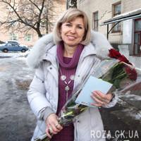 Красные розы в целлофане - Фото 1