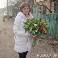 31 alstromeries in bouquet - Photo 2