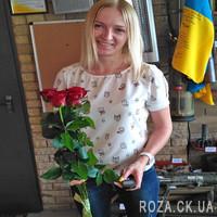 5 красных роз - Фото 10