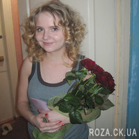 5 red roses - Photo 4