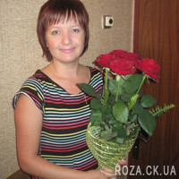 5 red roses - Photo 6