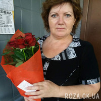 5 red roses - Photo 8