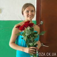 5 red roses - Photo 9