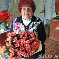 51 roses Miss Piggy - Photo 1