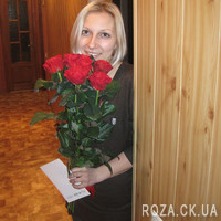 7 red roses - Photo 4