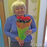 Authentic bouquet of red roses - Photo 2