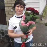 Authentic bouquet of red roses - Photo 3