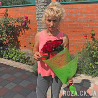 Authentic bouquet of red roses - Photo 5