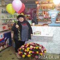 Большая корзина роз - Фото 1