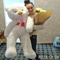 Large White Bear Teddy Bear 1.4 m - Photo 1
