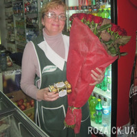 Large bouquet of roses in Cherkassy - Photo 3