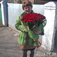 Large bouquet of roses in Cherkassy - Photo 4