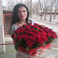 Large bouquet of roses in Cherkassy - Photo 5