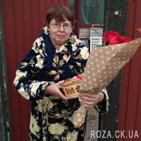 Букет импортных роз - Фото 1