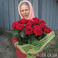 Bouquet of 19 red roses - Photo 4