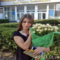 Bouquet of 25 roses - Photo 1