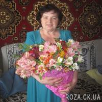 Bouquet of alstromeries - Photo 2