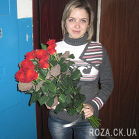 Bouquet of red roses in Cherkasy - Photo 4