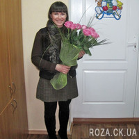 Bouquet of pink roses - Photo 1