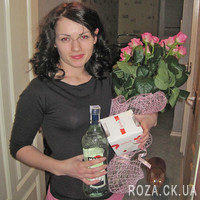 Bouquet of pink roses for woman - Photo 2