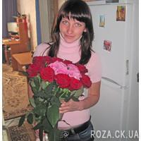 Букет сердце из роз - Фото 3