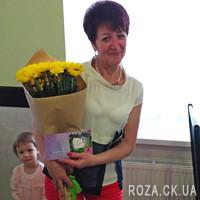 Букет желтых хризантем - Фото 1