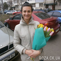 Wonderful bouquet of tulips - Photo 1