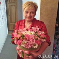 Цветы в коробке купить Черкассы - Фото 1