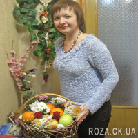 Basket with fruits and flowers - Photo 2