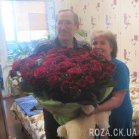 Buy 101 roses of Cherkassy - Photo 1