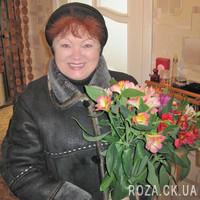 Small bouquet of alstroemerias - Photo 1