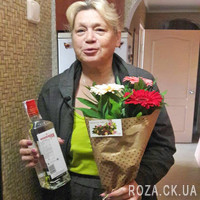 Mini bouquet of gerberas - Photo 1