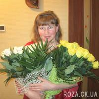 Превосходный букет из желтых роз - Фото 3