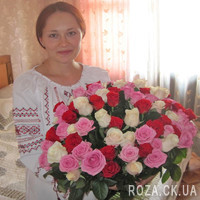 Chic bouquet of roses - Photo 1