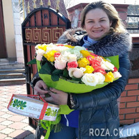 Chic bouquet of roses - Photo 2