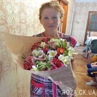 Glorious bouquet of alstroemerias - Photo 1