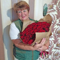 Amazing bouquet of 45 red roses - Photo 1