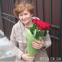 Wonderful bouquet of 11 red roses - Photo 5