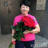 Bouquet of red roses in Cherkasy - Photo 6